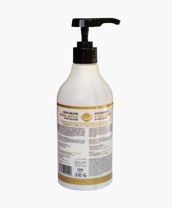 Kepek Önleyici Mineral Şampuan (500ml)